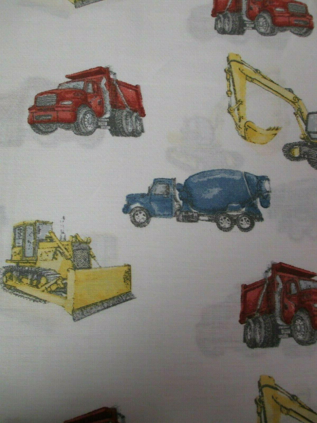 BOY Red Yellow Truck Equipment Full