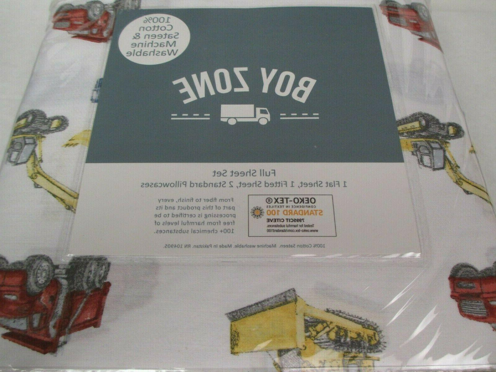 BOY Equipment Sheet Set Full