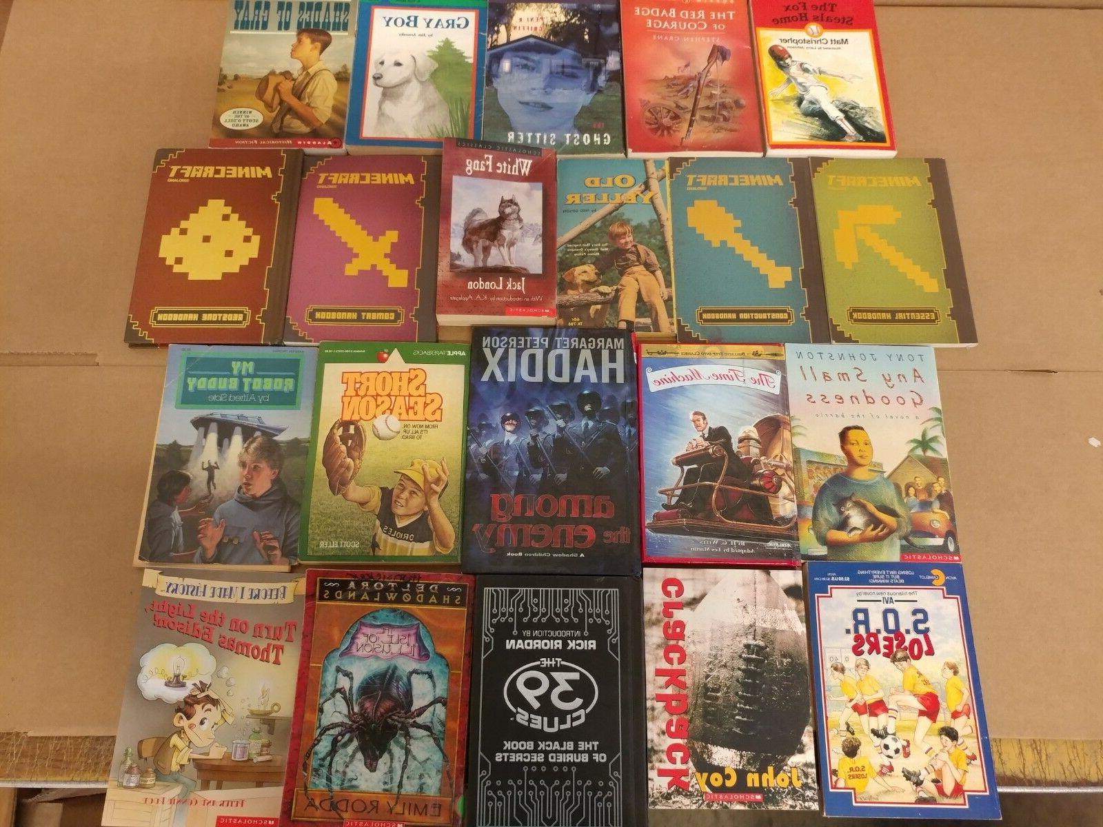 Lot Books for Youth Early Reader Children