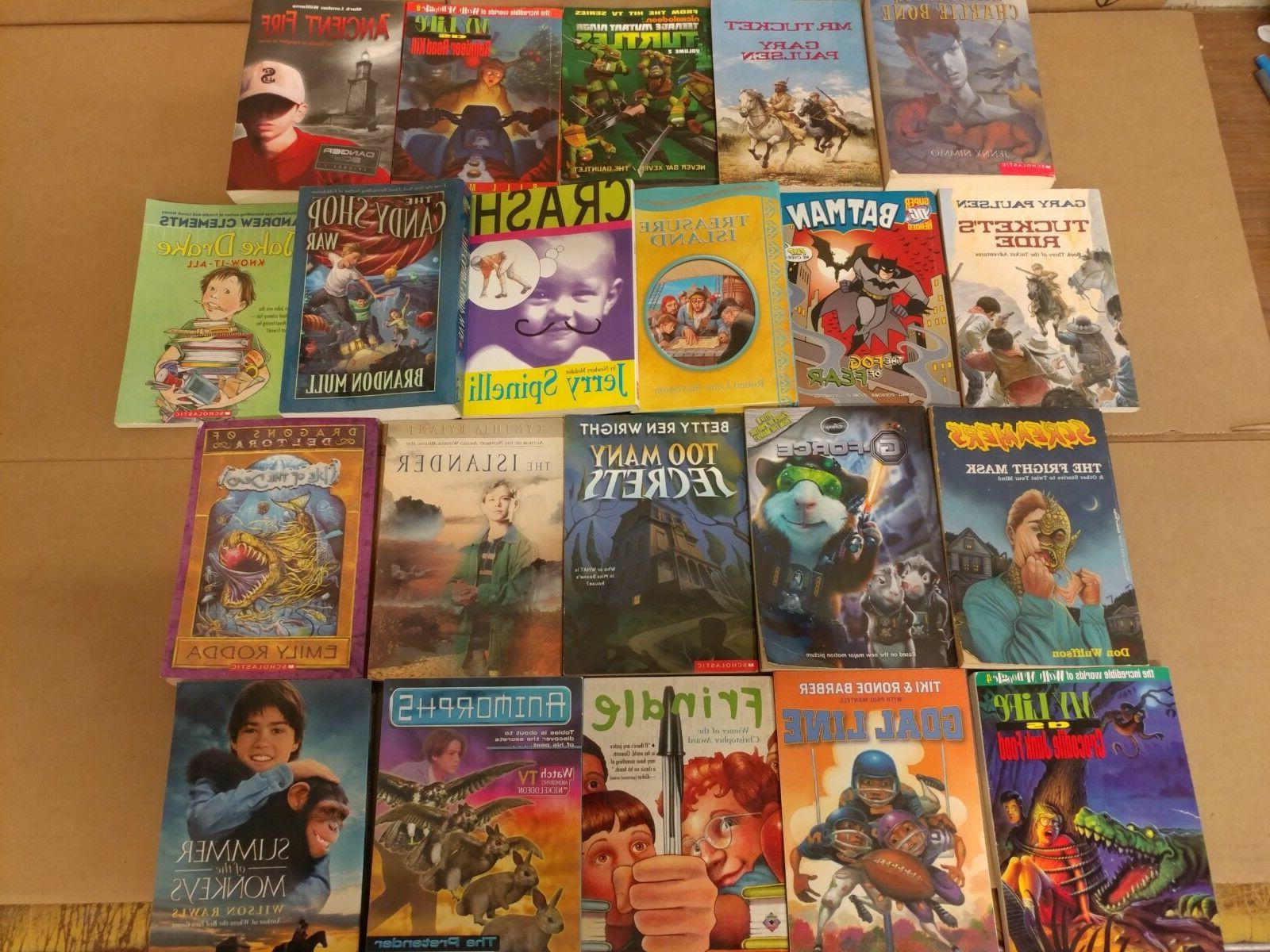 Lot Chapter Books for BOYS Youth Early Young Children