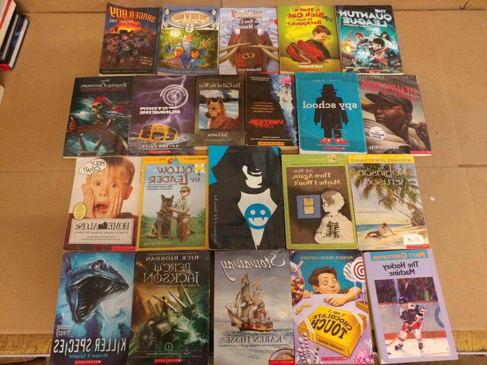 Lot of 20 Books BOYS Youth Early Young Children