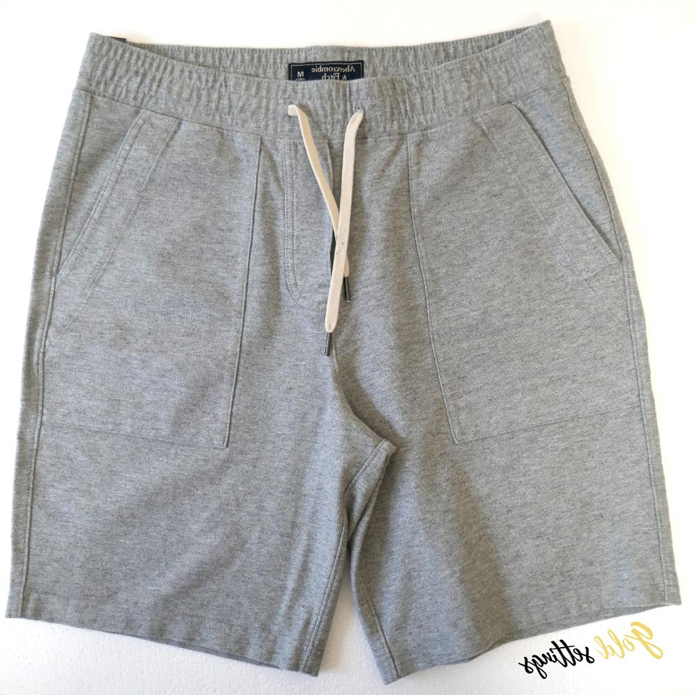 mens abercrombie and fitch classic sweat short