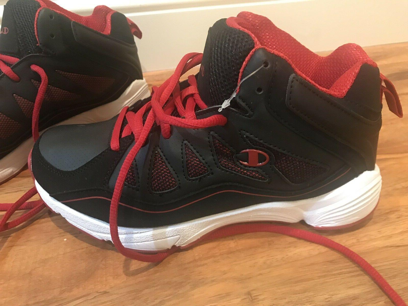 Champion Boys Basketball Black Shoes 6W school fall
