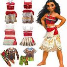 moana maui girls boys fancy dress princess