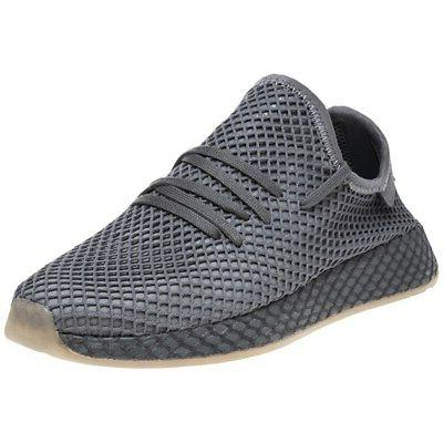 new boys gray deerupt runner nylon sneakers