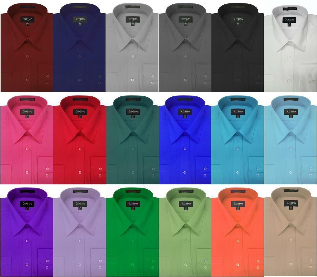 new boys solid long sleeve dress shirts