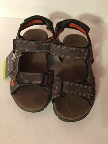 new kids brown orange sandals for boys