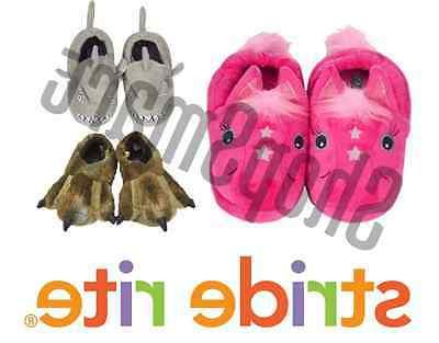 new plush slippers for little boys