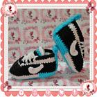 NEW Tennis NIKE Baby sneakers shoes slippers ACQUA crochet g