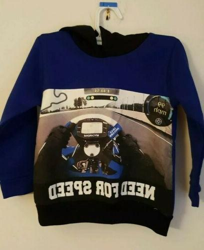new toddler boys outfit need for speed