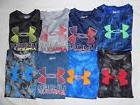 NWT UNDER ARMOUR KIDS BOYS' HEAT GEAR GRAPHIC T-SHIRTS SIZE: