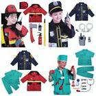 Police Officer Fire Chief Surgeon Kids Boys Role Play Costum