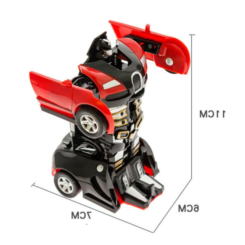 Robot Transformers Toys Vehicle Toy For Gift US