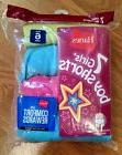 Size 6 Hanes Girls tagless 100% Cotton boy shorts 7 Pack NEW