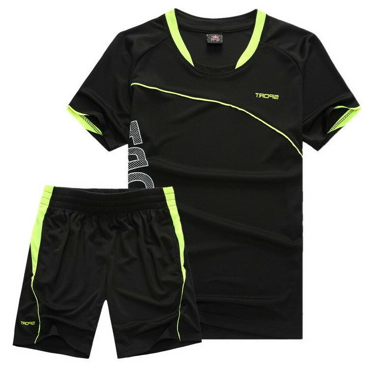 soccer jerseys and shorts boys sports set