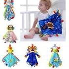 Soft Plush Stuffed Animals Taggy Taggie Tag Blanket For Baby