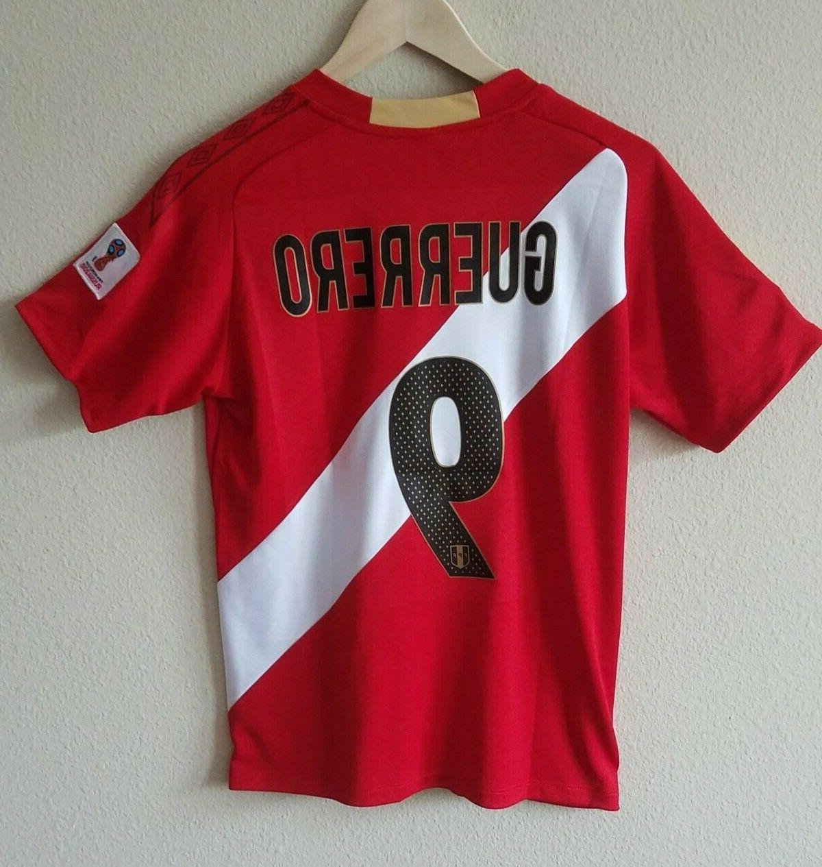T-Shirts Size XL, L and for and Peruvian Team.
