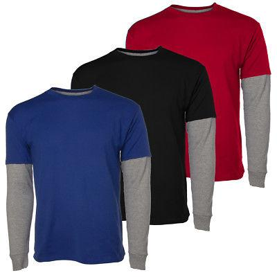 tagless long sleeve t shirt for boys