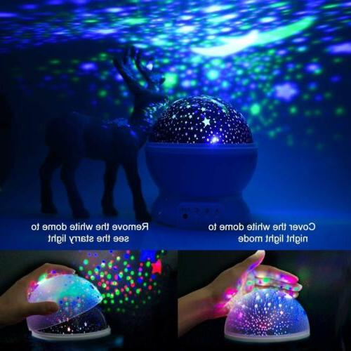 TOYS 10 Old Kids LED Light Star Constellation Xmas Gift
