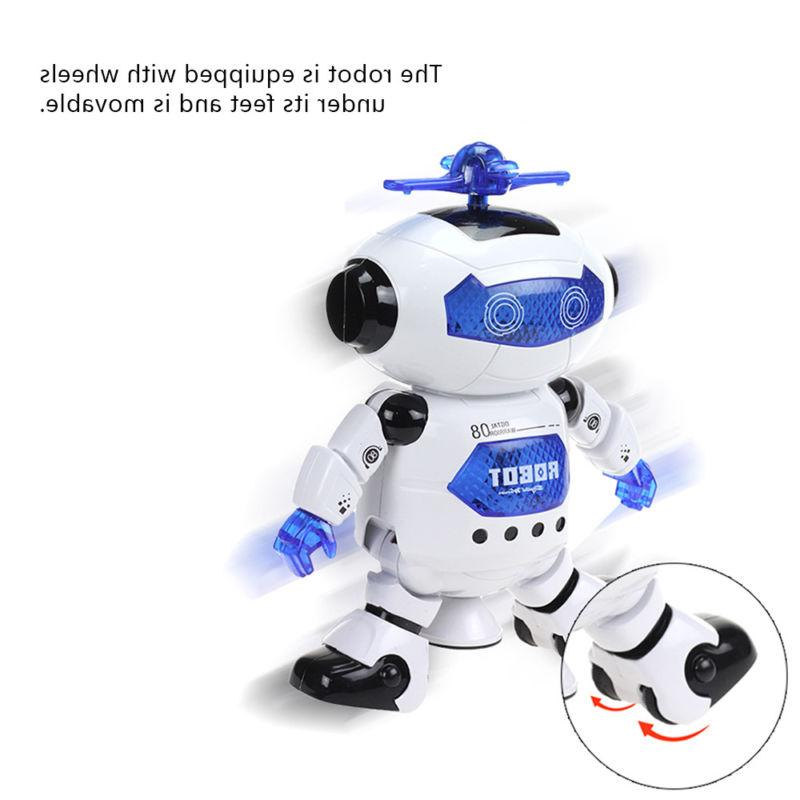 Toys Boys Robot Kids Robot Musical Toy Newyear Gift