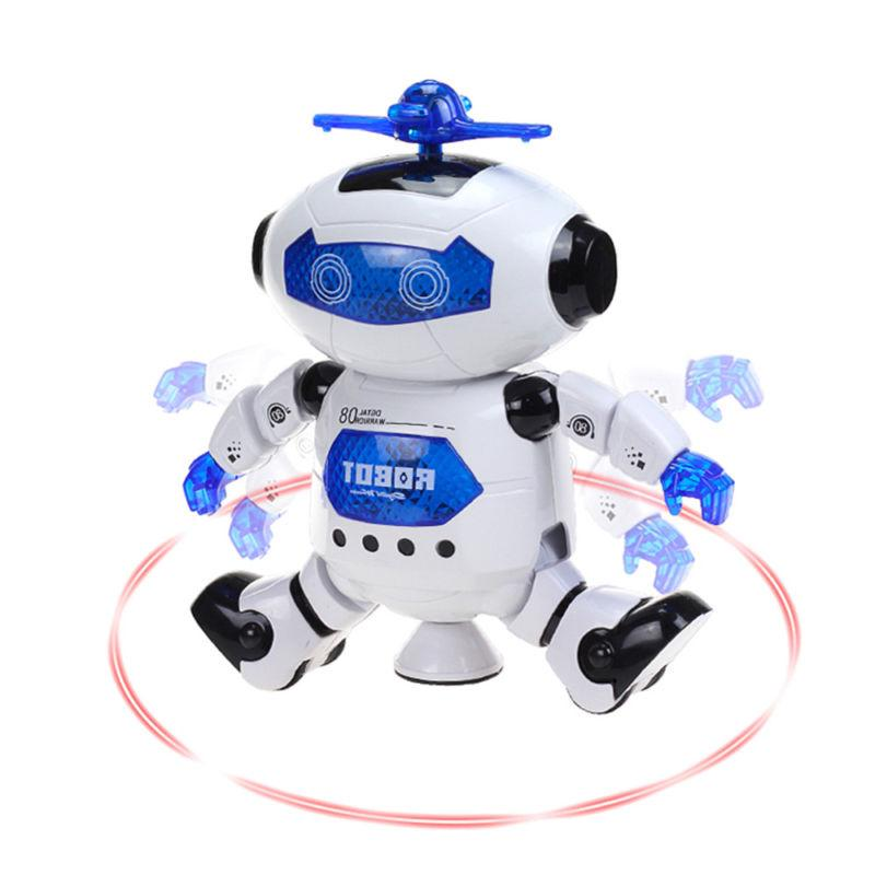 Toys Boys Robot Kids Toddler Robot Musical Birthday Newyear Gift