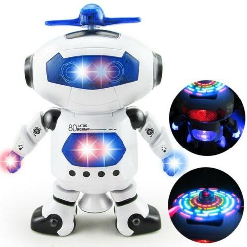 Toys Boys Robot Kids Musical Birthday Xmas Gift