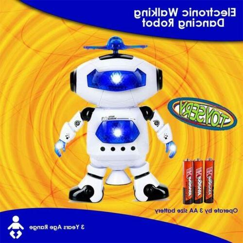 Toys Robot Kids Toddler Musical Toy Gift UA