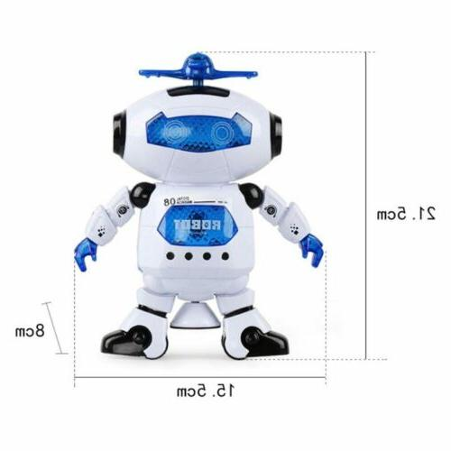 Toys For Robot Kids Toddler Robot Musical Toy Xmas Gift UA