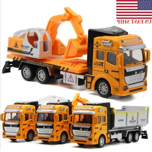 Toys Boys Truck Excavator Vehicles Birthday