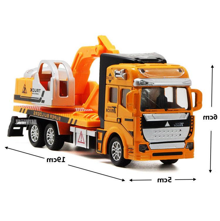 Truck Car Excavator Construction Vehicles