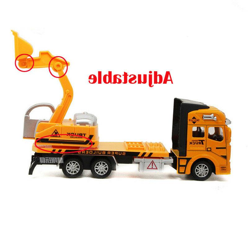 Toys for Alloy Excavator Construction Car Xmas Gift