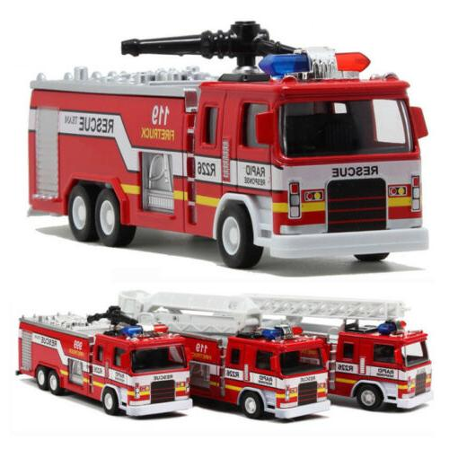 Toys Toy Fire Truck Car 3 Models Christmas Gift US