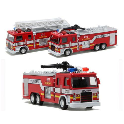Toys for Boys 3 4 5 6 7 8 Years Old Kids Mini Fire Truck Car