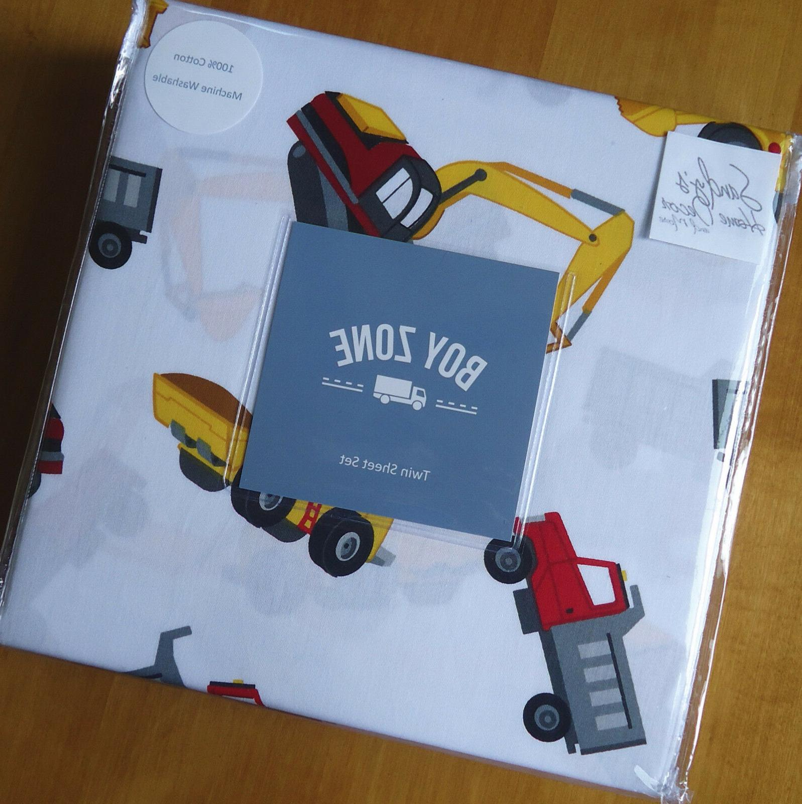 Boy Zone TRUCK 3pc SHEET CONSTRUCTION Red