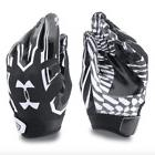 Under Armour UA F5 Football Receiver Gloves Pee Wee Boys Bla