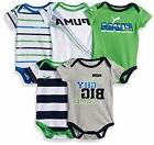 PUMA  Childrens Apparel Baby Boys 5 Pack Bodysuits 6/9M- Sel