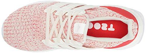 adidas White/Active red, M US Big Kid