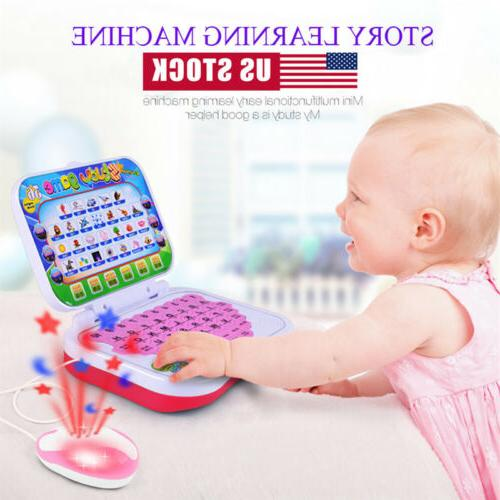US Children Laptop Learning Gift Boys