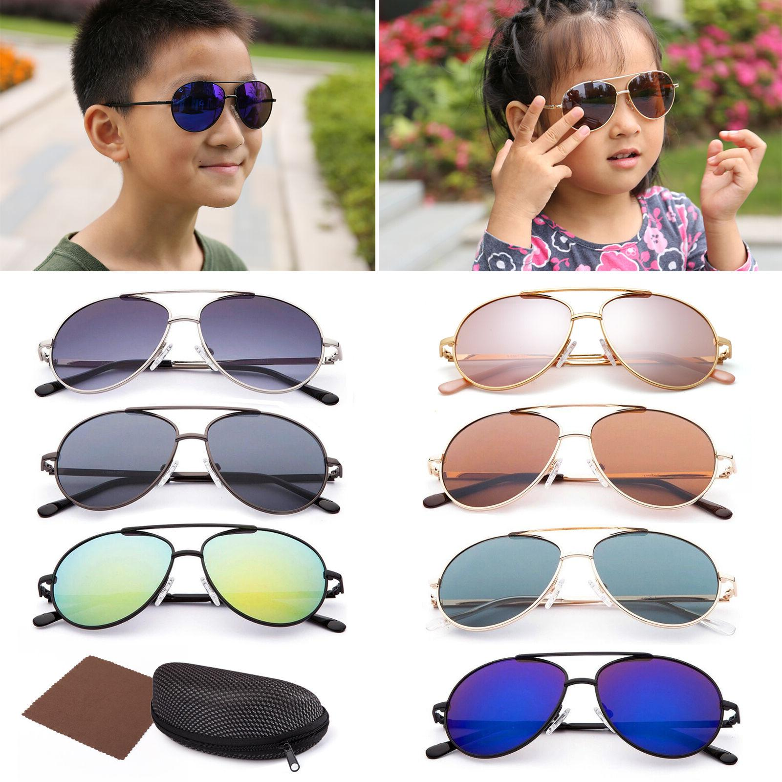 vintage aviator sunglasses for boys girls kids