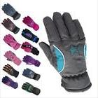 Warm Windproof Winter Gloves For Boys Girls Ski Cycling Outd