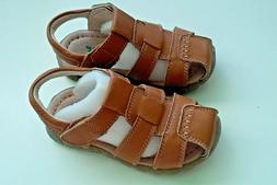 """Leather Sandals for Boys, size 24  Length 6"""""""