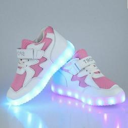 LED Shoes With Light Up Kids Luminous Sneakers LED Glowing S