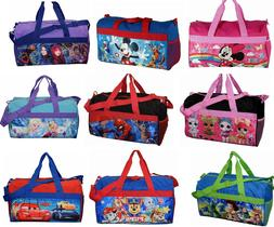 Little Kids Duffel Duffle bag Sleep Over Night Travel Carry