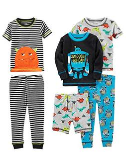 Simple Joys by Carter's Boys' Little Kid 6-Piece Snug Fit Co