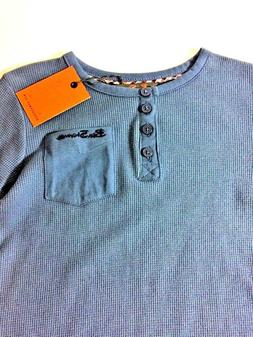 Long Sleeve Ben Sherman Blue Shirt for Boys Size 5, New