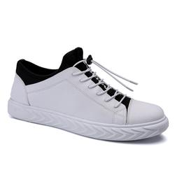 Man Low-top Pu Leather Skateboarding Shoes Spring Outdoor Pl