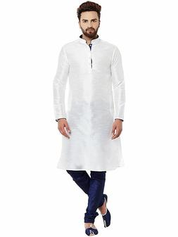 Men's Banglore Art Silk Kurta For Men Or Boy Yoga Indian Clo