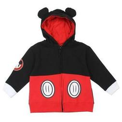 Mickey Mouse Boys Zip Hoodie for ToddlerBoys