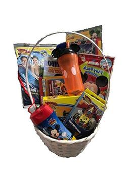 Mickey Mouse Easter Gift Basket /Set For Baby Boy/Toddler,10