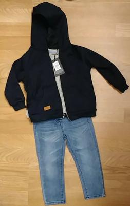 NEW 7 For All Mankind 24 months Infant Baby Boy Set Jacket/S